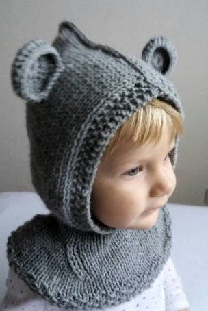 Baby Hat Pattern Pdf Knitting Pattern Bear Hat Pattern Hat