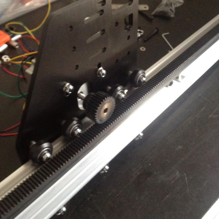 Ox Cnc With A Rack And Pinion Drive System Mod 1