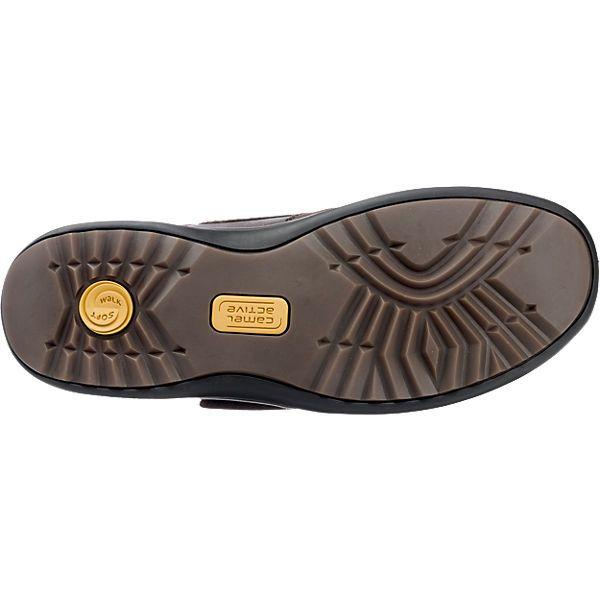 Die camel active Manila 32 Freizeit Schuhe bestehen aus einem Mix aus  echtem Leder und Kunstleder. Die herausnehmbare, gepolsterte Decksohle  sorgt für einen ...