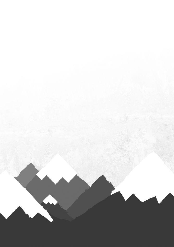 FREE Printable Mountain Poster