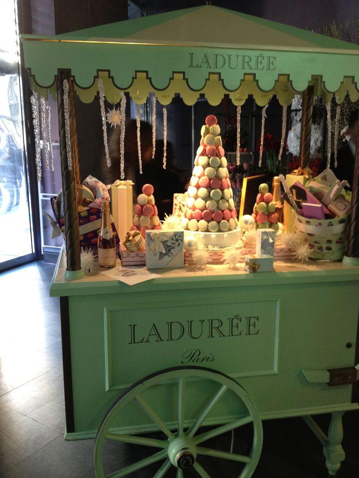 Cute Macaroon Cart My Trip To Europe Candy Cart