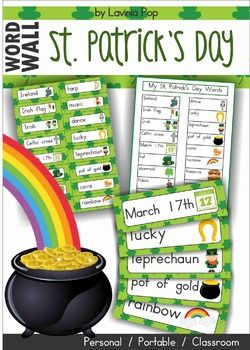 St. Patrick's Day MEGA BUNDLE*** Includes US and Australian spelling ****** Save $5 when you purchase this bundle! ****** Save an additional 50% if purchased before Feb. 19th 2015 ***This unit contains samples from the St. Patrick's Day resources available in my TpT store.* NOTE: This is a growing bundle and, when I add more St.