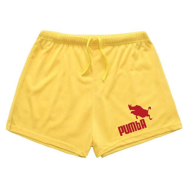 "Men's Gym Shorts With Pockets Cotton High Quality shorts ""Pumba"""