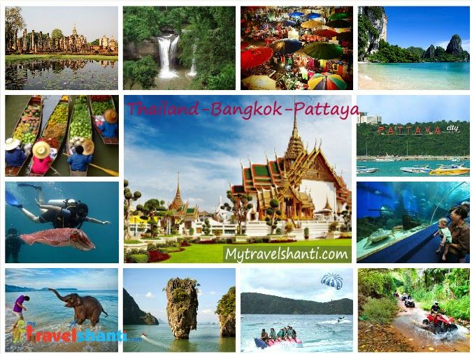 Thailand is full of natural beauty and happiness; you will see happy and smiling faces of people everywhere.  For Package Kindly contact us at Email: contact@travelshanti.com Call: 09910233433