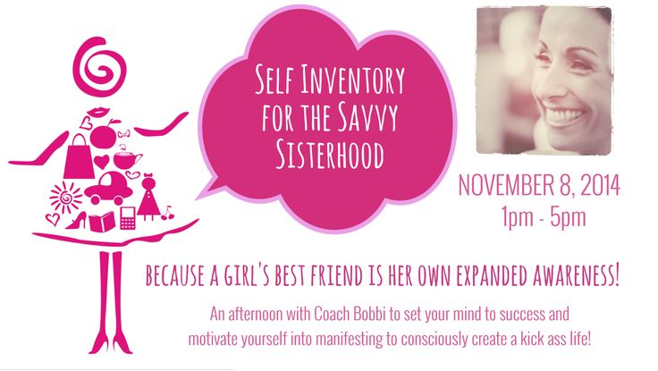 What is it costing you to NOT be living your desired life?  Take back control, discover your personal power to then create happy, you way!  Join me, Coach Bobbi, at Self Inventory for the Savvy Sisterhood - Sydney. Facebook event here:  https://www.facebook.com/events/625826880871083/ Tickets here:  www.askcoachbobbi.com