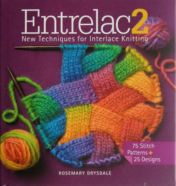 Mejores 288 imágenes de Entrelac/neverkont en Pinterest | Patrones ...