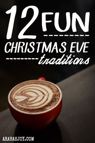 My family and I have worked to simplify our Christmas while having meaningful traditions. Here are 12  unique and special Christmas Eve tradition ideas.