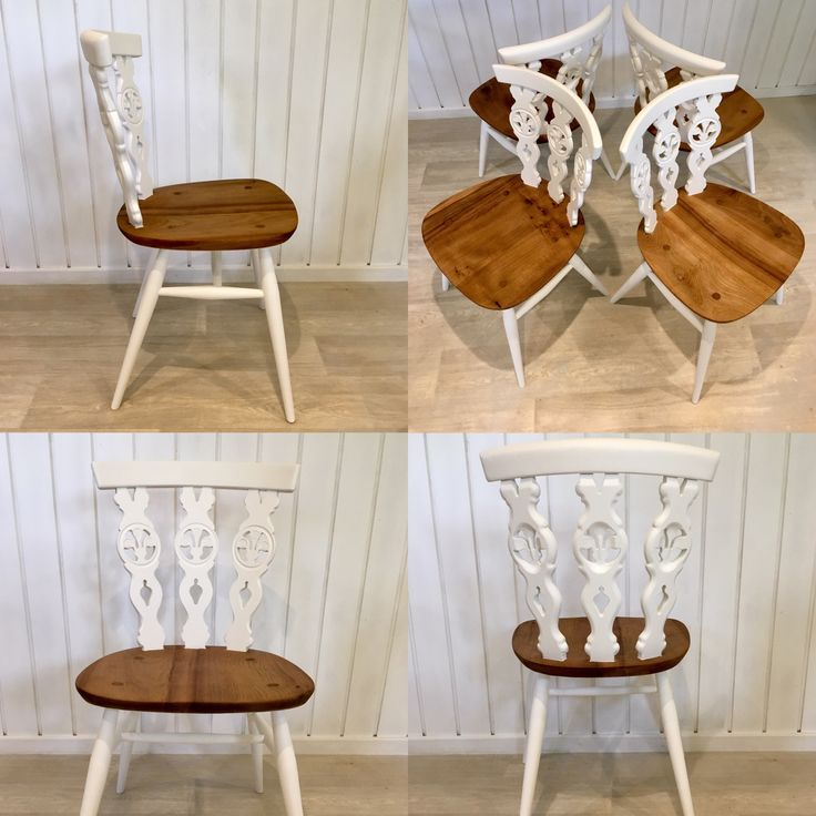 Beautiful Ercol Fleur de Lys dining chairs. Available to buy at https://www.etsy.com/uk/shop/BellaAndBudHomeDecor