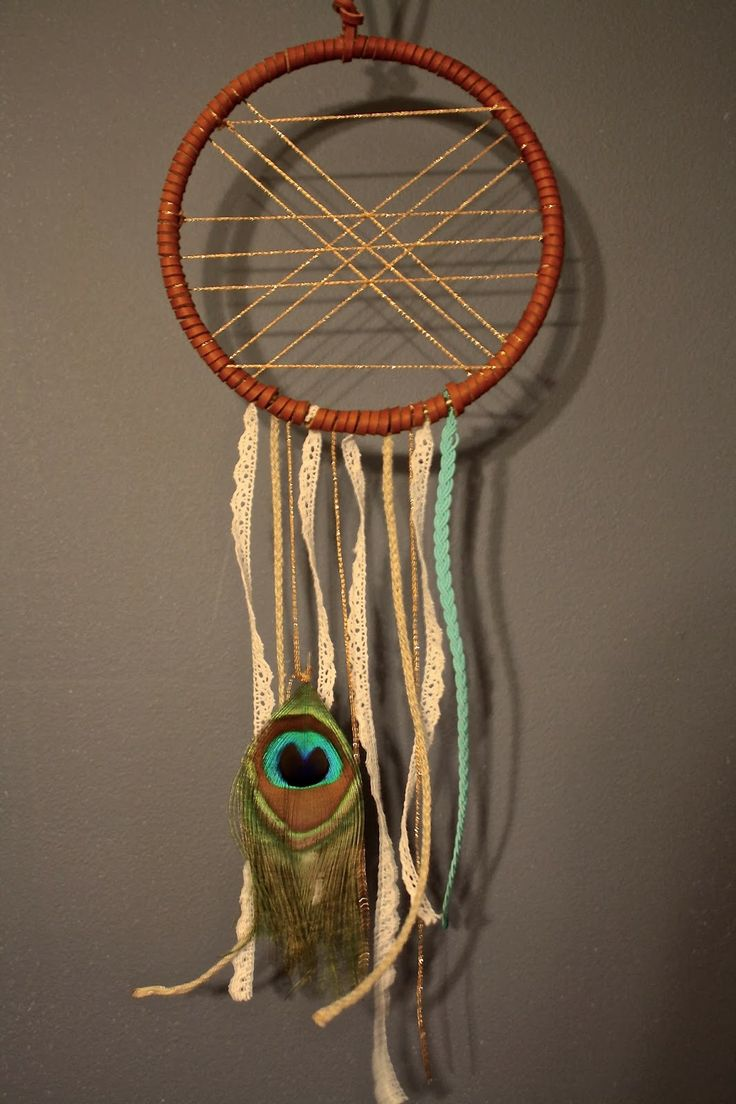 DIY Dream Catcher. Tutorial and All. http://flapjacksandflannel.blogspot.com/2014/01/a-dream-is-wish-your-heart-makes.html