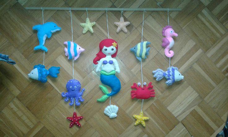 Zwierzęta morskie  filc