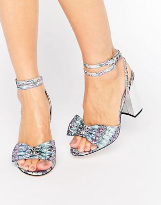 ASOS HARP Heeled Sandals