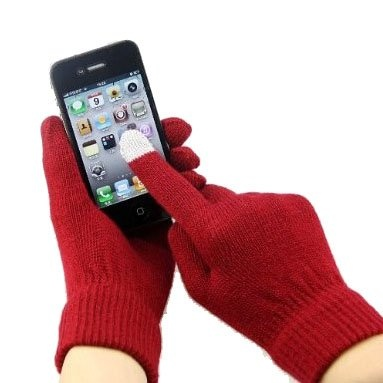"""Winter was coming, but also in the """"naked"""" hand to play IPAD? You OUT! Hoter Touch Screen Gloves let you warm at the same time as the IPAD can play. With special gloves fingertips micro-difference fiber of conductive metal, materials, electrical resistance close to human body resistance, bring gloves can easily operate iphone, IPAD, and all capacitance screen products. Play in winter, you can also! Is a boring winter..."""
