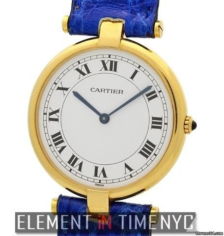 Cartier Vendome Collection Vendome Vintage 18k Yellow Gold 30mm Ref. Price On Request
