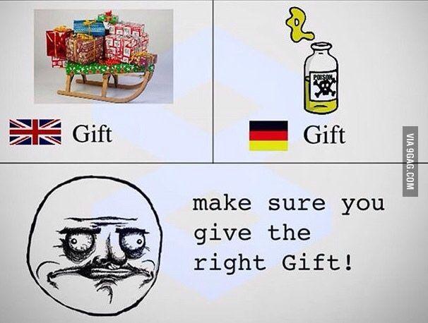 In German please!