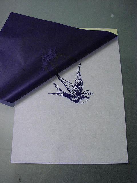 fax machine -created tattoo stencil #TATTS  #TATTOOS