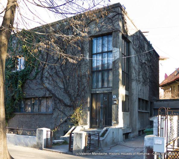 Villa Miclescu, arch. Horia Creanga, 1930, Dorobanti quarter, Bucharest (©Valentin Mandache)