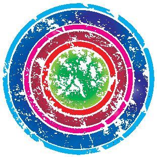 potisk, originální motiv na tričko,T-ART.CZ, ornament aztec color design t-shirt