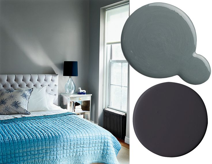 best paint color combinations: gray, black, and blue please!