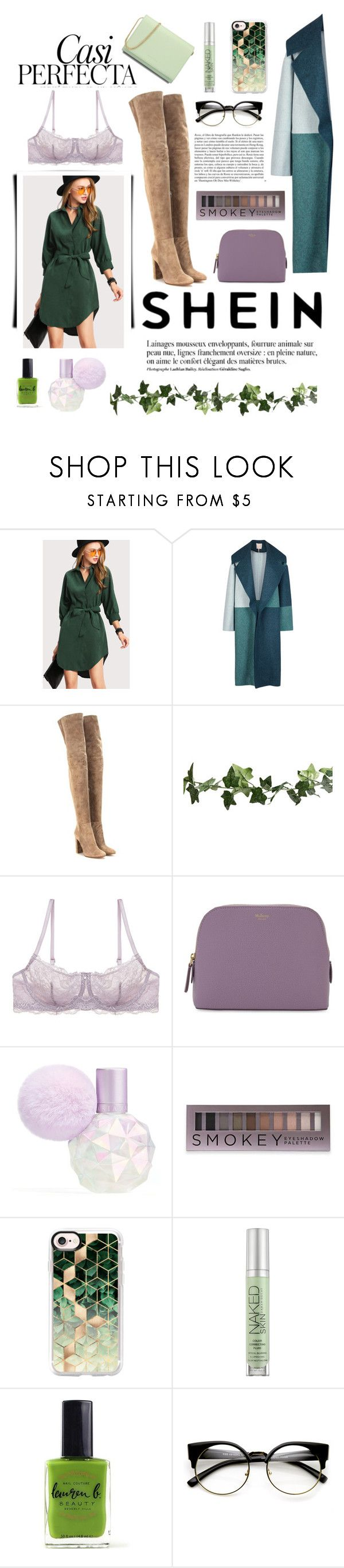 """Sin título #96"" by lapepafausti ❤ liked on Polyvore featuring Roksanda Ilincic, Gianvito Rossi, Gossard, Mulberry, Anja, Forever 21, Whiteley, Casetify, Urban Decay and ZeroUV"