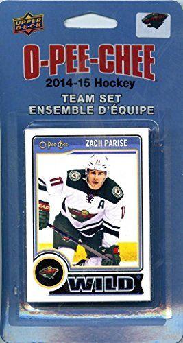 Minnesota Wild 2014 2015 O Pee Chee NHL Hockey Brand New Factory Sealed 17 Card Licensed Team Set Made By Upper Deck Including Dany Heatley, Mikko Koivu, Zach Parise Plus - http://www.rekomande.com/minnesota-wild-2014-2015-o-pee-chee-nhl-hockey-brand-new-factory-sealed-17-card-licensed-team-set-made-by-upper-deck-including-dany-heatley-mikko-koivu-zach-parise-plus/
