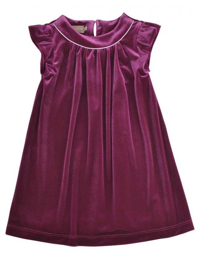 Velvet Christmas dress from La stupenderia. Buy online: http://petitchic.com/english/merken/italiaans/la-stupenderia/feestelijk-ensemble-met-fluweel-glitter
