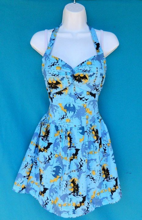 Batman Dress #etsy #geek #clothing