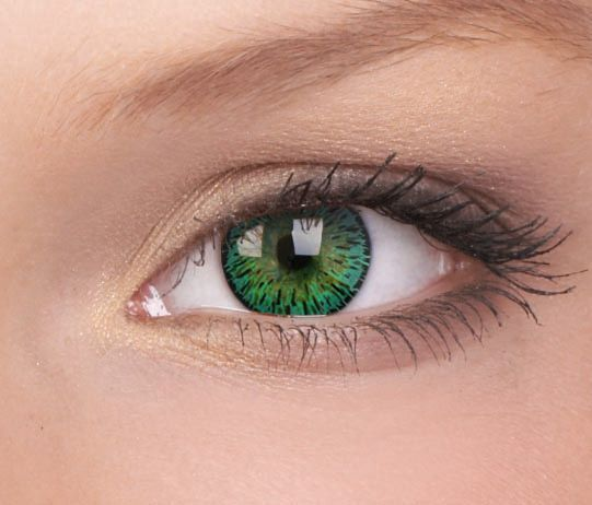 Elegance Green Contact Lenses