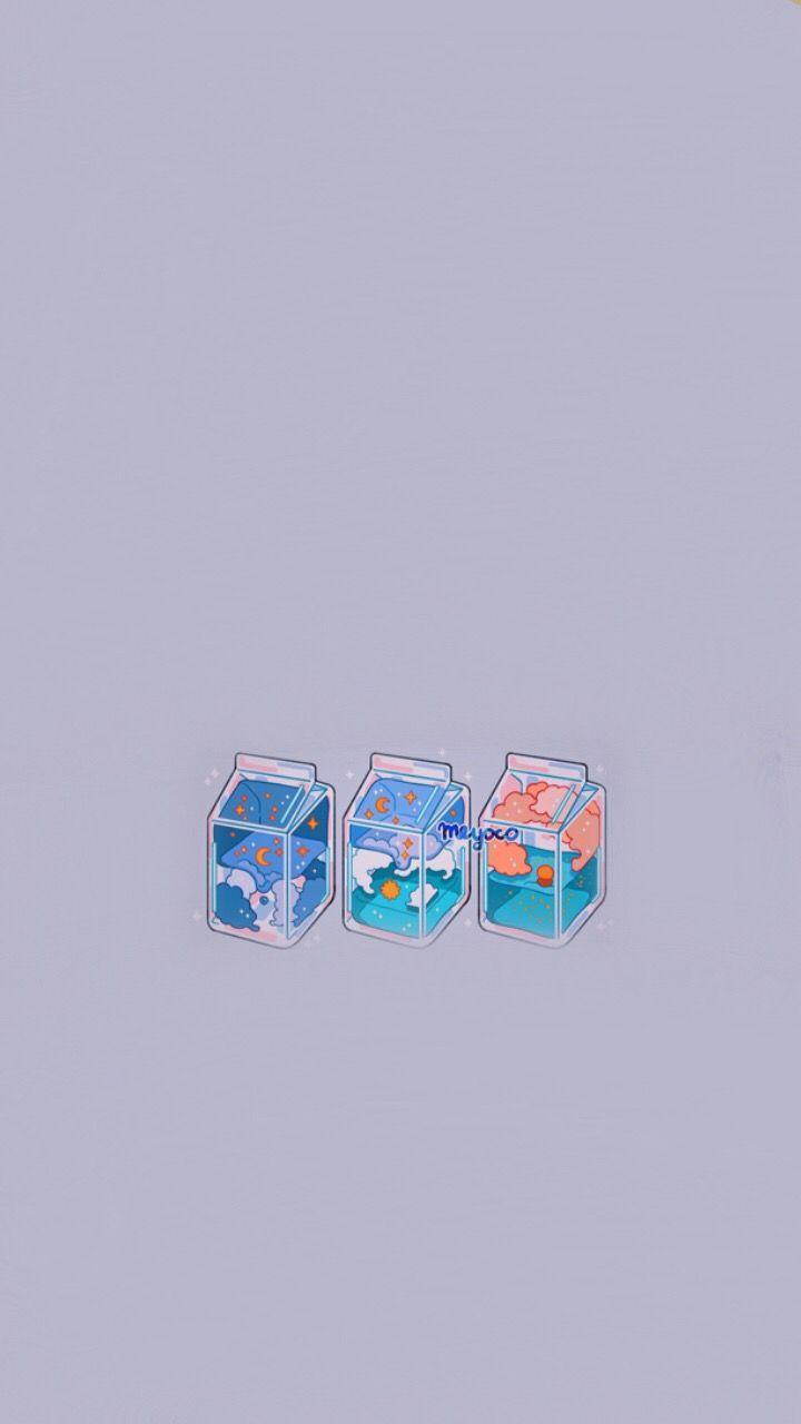Pin By Genesis On Wallpaper Kawaii Wallpaper Aesthetic Iphone Wallpaper Cute Wallpapers