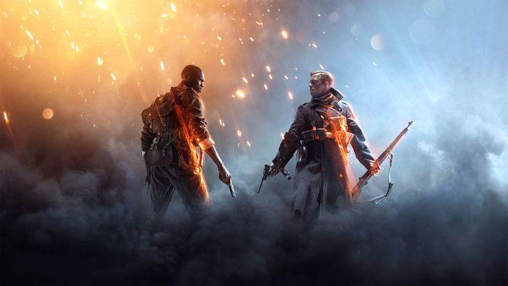 Papel de parede grátis de Jogos : Battlefield 1. Battlefield 1 é um jogo eletrônico de tiro em primeira pessoa ambientado na Primeira Guerra Mundial, desenvolvido pela EA DICE e publicada pela Electronic Arts.