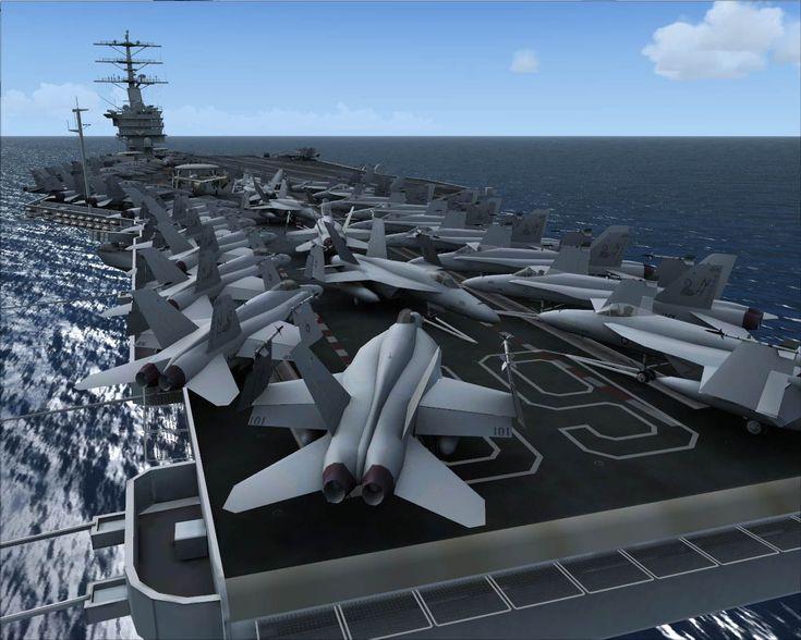 Aircraft Carrier USS Nimitz for FSX