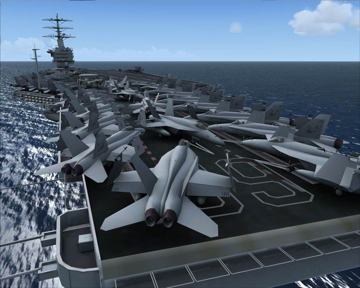 Aircraft Carrier USS Nimitz for FSX