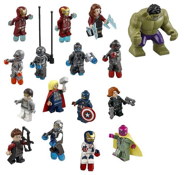 LEGO Marvel Avengers Age of Ultron Minifigures
