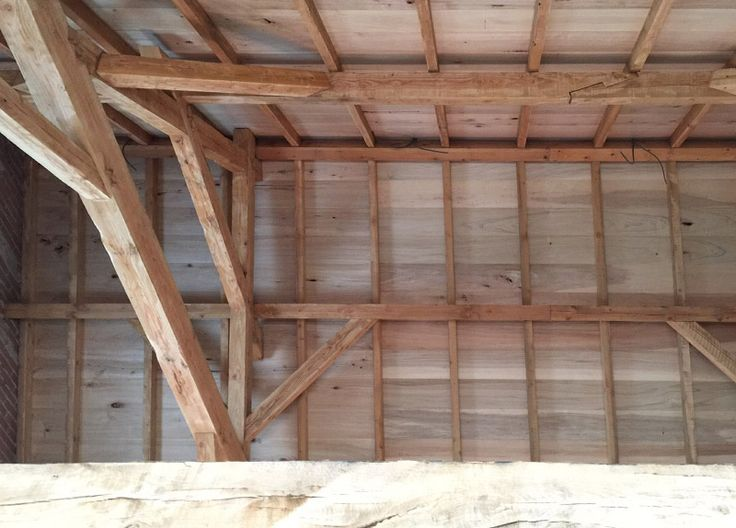 Whitening houten balken: houten balken plafond verven. houten
