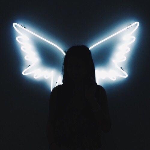 Imagem de angel, light, and wings
