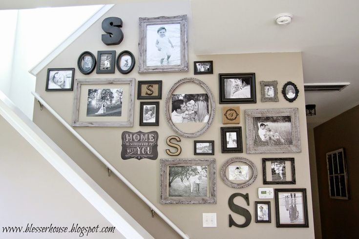 The Most Efficient Way to Create a Gallery Wall | Bless'er House