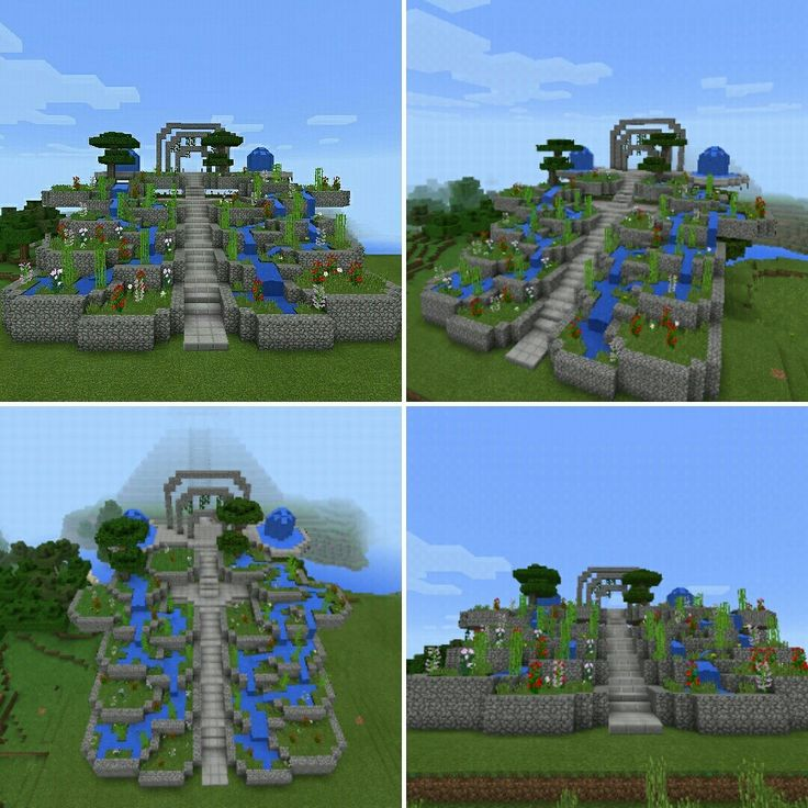 #Parque #jardin #Minecraft ** #Garden #Park Mimecraft #Mcpe #Minecraftpe #Minecraftpc #MCPECrea #builder #Games #Gamer