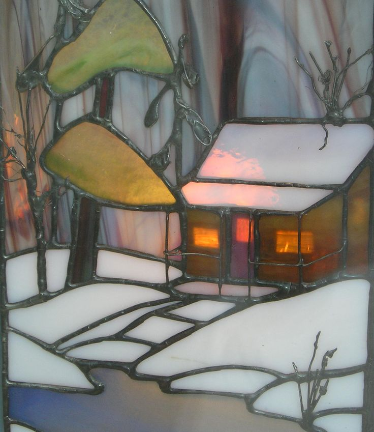"Cabin in the snow: ""Winter light"""