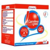 L Carnitina de Drasanvi, 2000 mg por vial, quema grasas de Drasanvi, de las concentraciones mas altas de L Carnitina al mejor precio.
