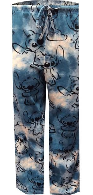 WebUndies.com Disney's Lilo And Stitch Blue Loungepant
