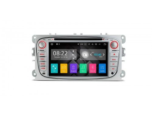"""PA77FSFP-S - 7"""" HD Digital Touch Screen Android 7.1 Quad-Core 16GB + DDR3 2G RAM HDMI Car Stereo Custom Fit for Ford xtrons.co.uk/"""