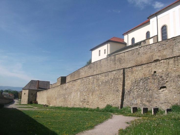 City walls in Levoca