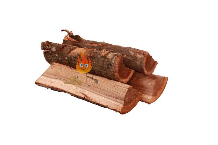 """Elzen haardhout is zachter haardhout dat makkelijk brandt, niet """"spat"""" en zeer geschikt is voor speksteenkachels die puur voor de warmte gestookt worden."""