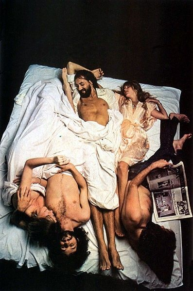 Fleetwood Mac by Annie Leibovitz--well that just about covers the whole story of Fleetwood Mac! ;)