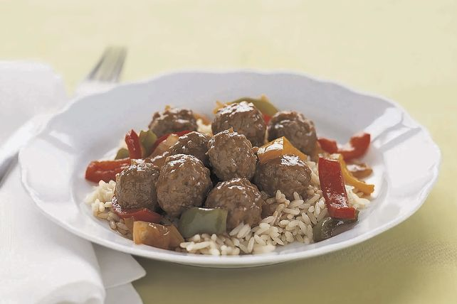Make our Simple Sweet and Sour Meatballs that are paired with an incredibly delicious sauce that's easy to make and adds the perfect tangy taste.