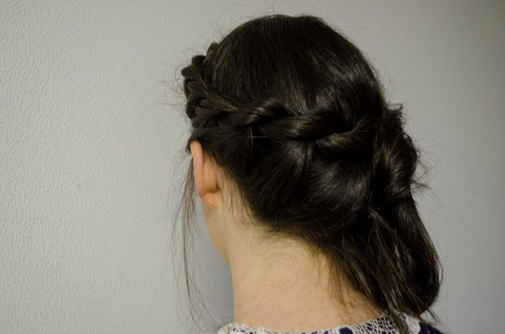 Half Rope Braid- Formal or wedding hair style