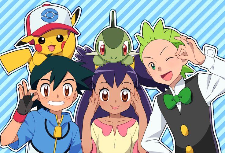 Pokemon Cilan And Iris | www.pixshark.com - Images ...
