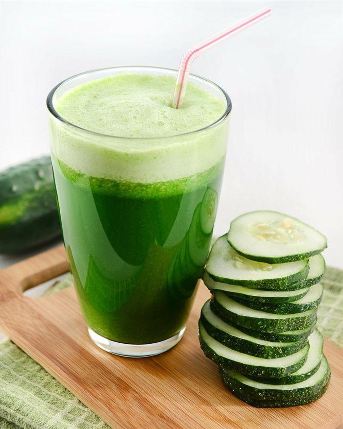 abnehmen ohne sport und diät grüne smoothies