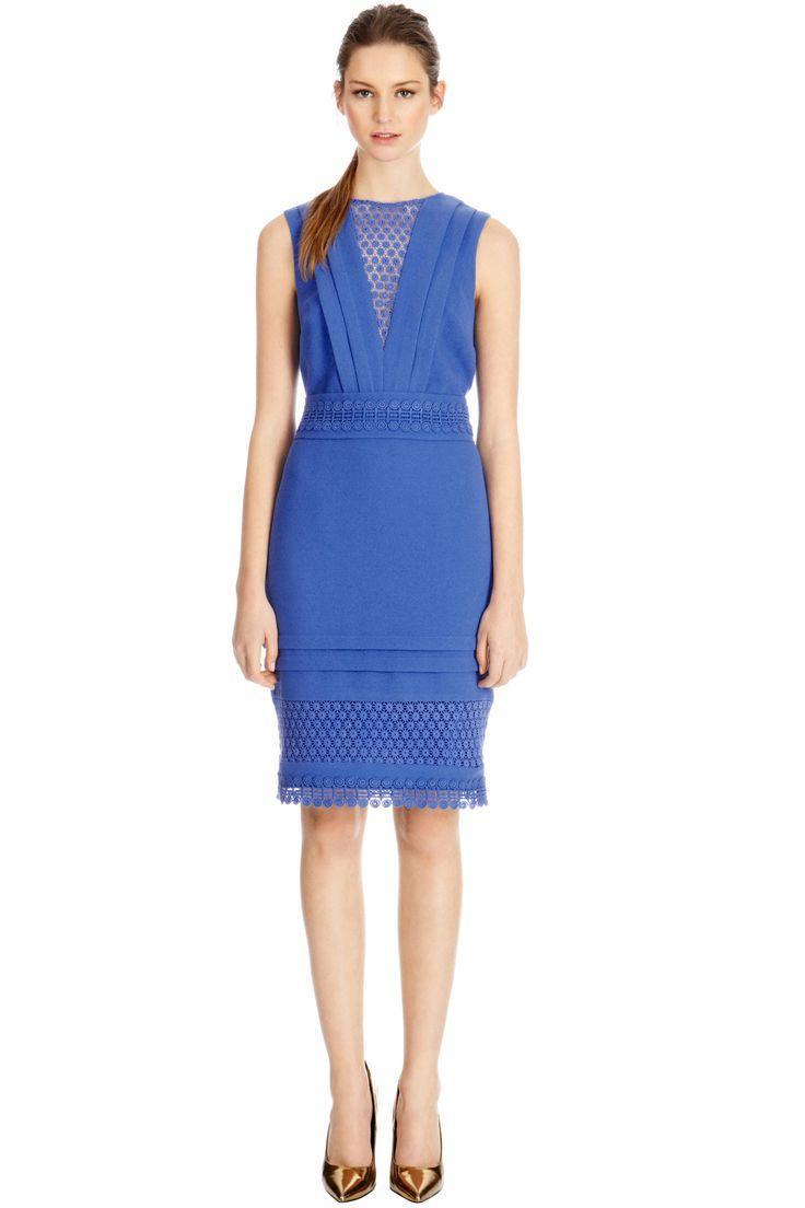 Crochet Lace Pencil Dress