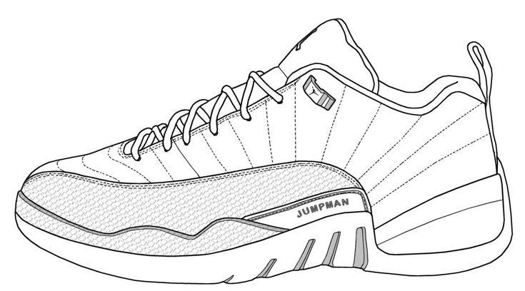 Air Jordan XII (Low) | Birthday cake templates | Pinterest ...