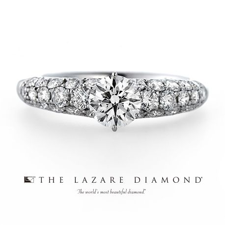 ラザール ダイヤモンド ブティック:ダイヤを敷き詰めたパヴェでゴージャスに!パヴェの結婚指輪・マリッジリングの一覧❤